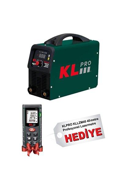 KLPRO Klmma200 Inverter Kaynak Makinesi 200 Amper + Kllzm40 40metre Lazer Metre