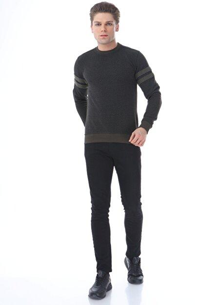 Rodi Jeans Erkek Triko Zigzaglı Slim Fit