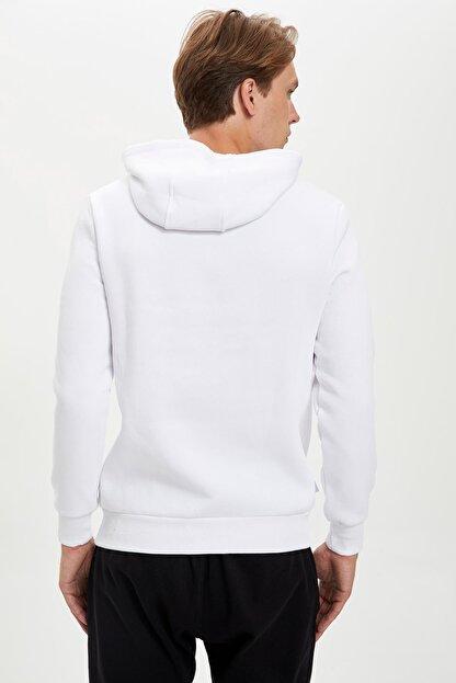 Defacto Fit Erkek Nba Lisanslı Unisex Kapüşonlu Sweatshirt