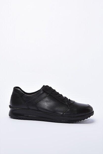 Yaya by Hotiç Hakiki Deri Siyah Erkek Casual Ayakkabı 02AYY195080A100