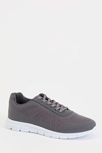 Defacto Kadın Gri Bağcıklı Aktif Spor Ayakkabı S1728AZ20AU