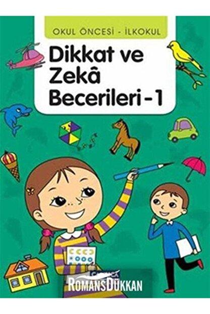 Çamlıca Çocuk Yayınları Dikkat ve Zeka Becerileri - 1 (36-48 Ay)