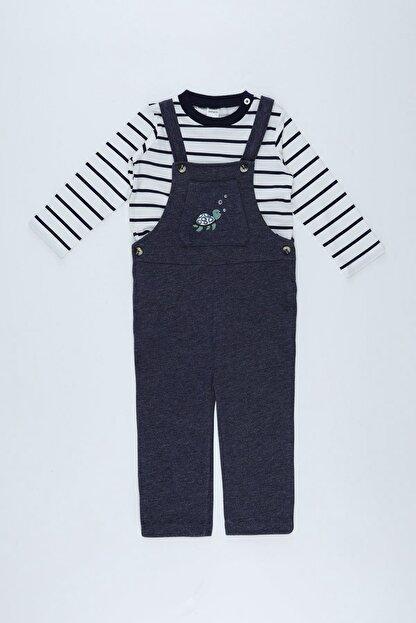 Defacto Erkek Bebek Tulum Ve Tişört Takım