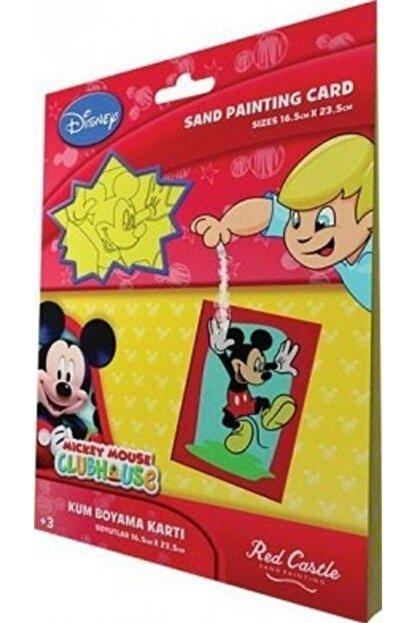 Egem Grup Organizasyon Mickey 1 Kum Boyama Kartları