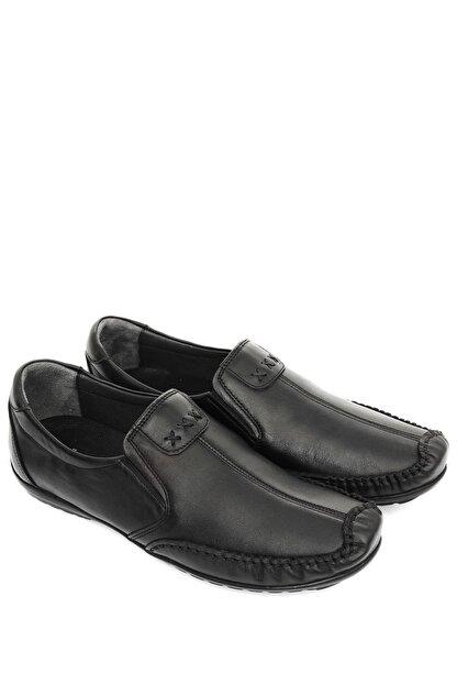 GÖNDERİ(R) Hakiki Deri Siyah Erkek Günlük (Casual) Ayakkabı 01612