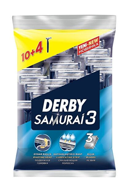 Derby Samurai 3 10+4 Poşet