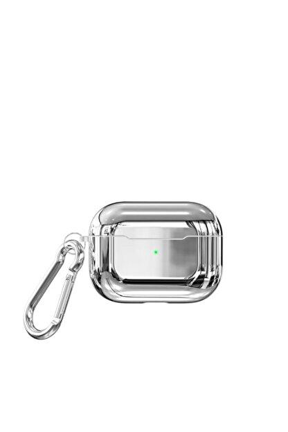 Zore Parlak Suya Dayanıklı Wireless Kablosuz Şarj Destekli Askı Aparatlı Kancalı  Airpods Pro Kılıf