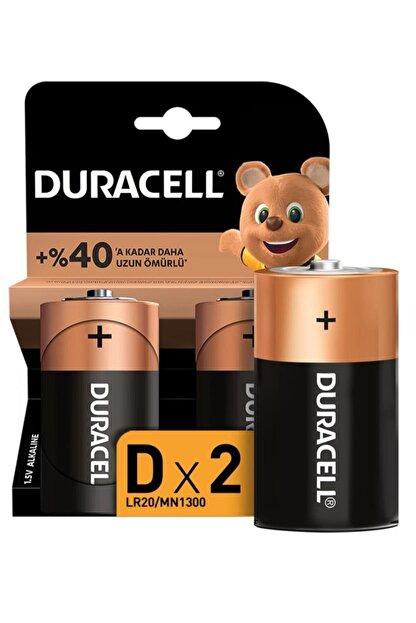 Duracell Pil D Büyük Boy 2 Li