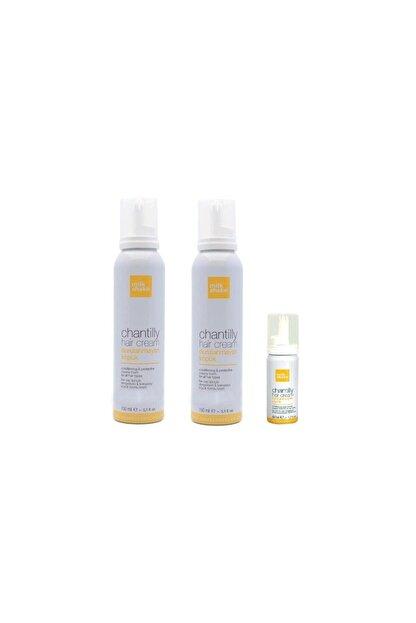 Milkshake 2 Adet 150 Ml Ve 1 Adet 50 Ml - Nemlendirici Saç Köpüğü - Chantilly Hair Cream