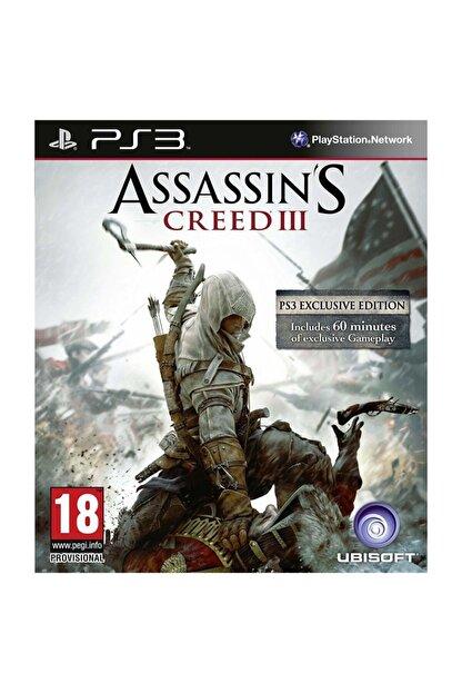 Ubisoft Assasin's Creed 3 Ps3 Oyunu