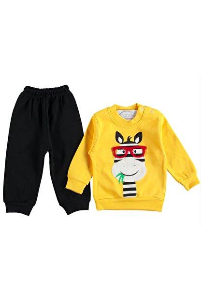 DDG Collection Gözlüklü Zebra 2'li Erkek Bebek Takım (6-9-12ay)