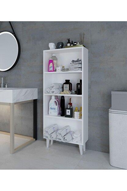 intarz Artim Çok Amaçlı Mutfak Banyo Kitaplık Dolabı Yükseklik 137 Genişlik 59 Derinlik 22