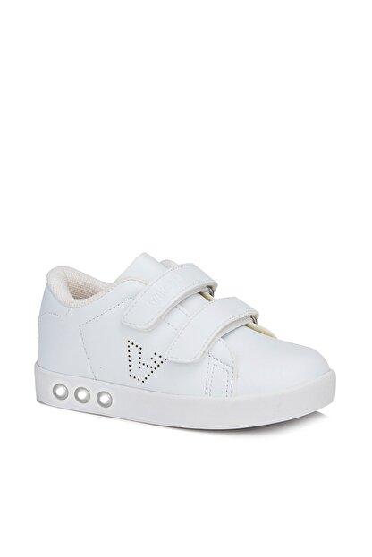 Vicco Oyo Unisex Bebe Beyaz Spor Ayakkabı