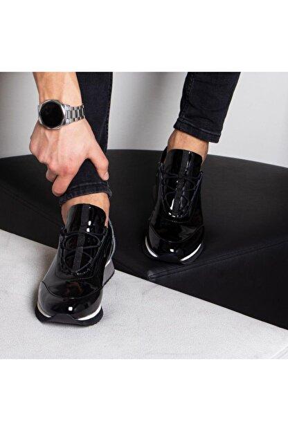 İBAY Anger Erkek Hakiki Rugan Deri Günlük Ayakkabı