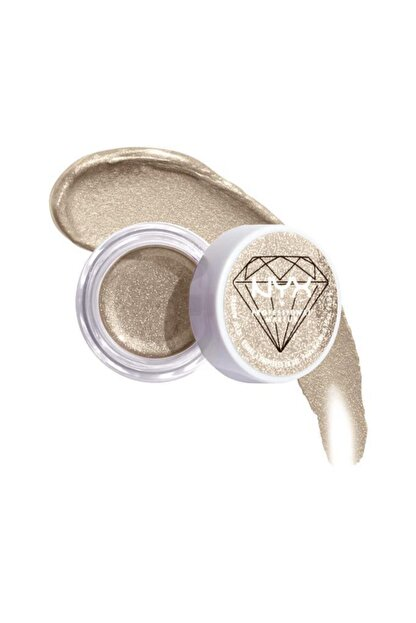 NYX Professional Makeup Diamond & Ice, Please! Jelly Shadow Işıltılı Far - Gold Stacks