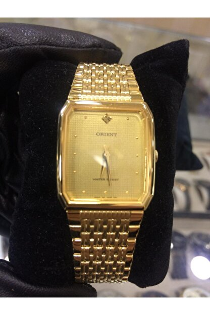Orient Altın Sarısı Çelik Kordon Metal Kasa Unisex Saat