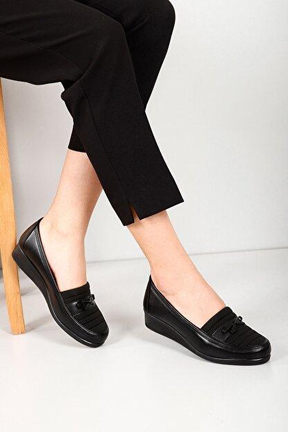Gön Kadın Siyah Günlük Ayakkabı 42090