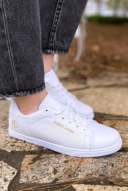 YABUMAN Kadın Beyaz Sneaker Ysn01257kd00