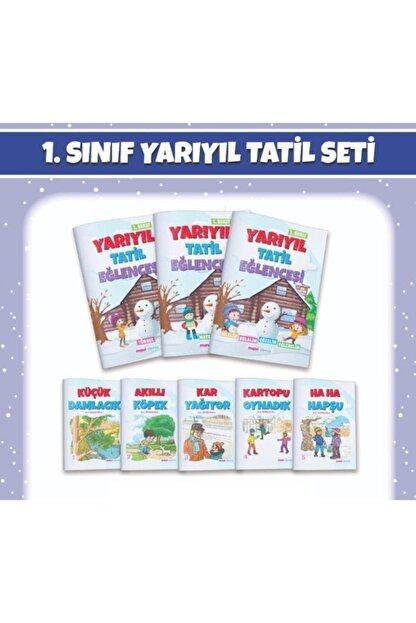Mavi Deniz Yayınları 1. Sınıf Yarıyıl Tatil Eğlencesi 3 Kitap + 5 Hikaye