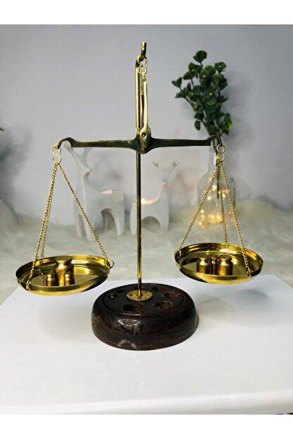 dekoratif ahsap adalet terazisi 50 gr 18 cm 14 cm 4 cm