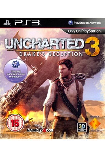 Naughty Dog Uncharted 3 Drake Deception Ps3
