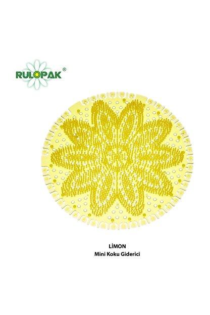 Rulopak Mini Lavabo- Pisuvar Süzgeci Koku Giderici 10 Adet Limon
