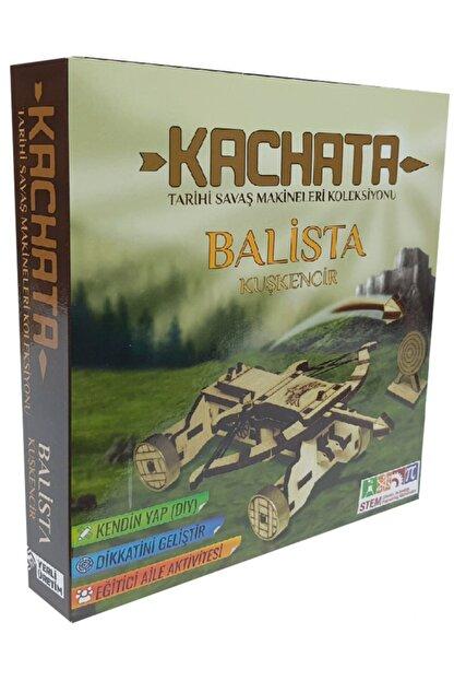 Kachata Hobi Oyuncak İmalat Ve Ticaret Ltd. Şti Kachata Balista Kuşkencir 3d Ahşap Puzzle Yapboz