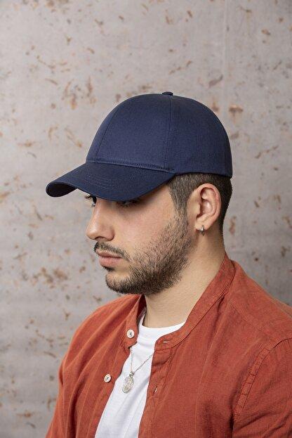 ÜN ŞAPKA Lacivert Şapka - Arkası Ayarlanabilir Şapka