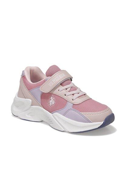US Polo Assn PEJA Pembe Kız Çocuk Koşu Ayakkabısı 101006268