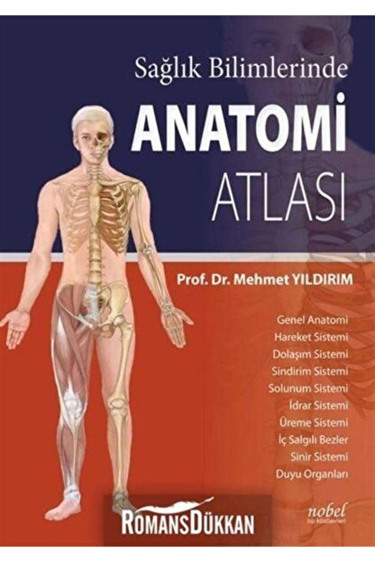 Nobel Tıp Kitabevleri Sağlık Bilimlerinde Anatomi Atlası