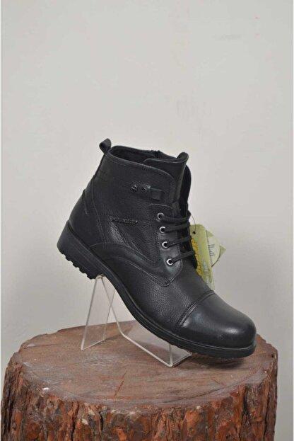 Dunlop Erkek Siyah  Ayakkabı