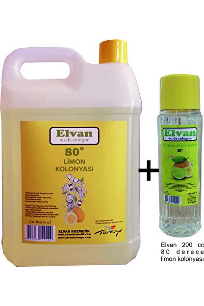 Elvan 80 Derece Limon Kolonyası 5 Lt