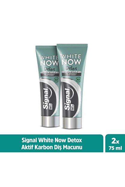 Signal White Now Detox Kil Minerali & Aktif Karbon Diş Macunu 75 ml X2