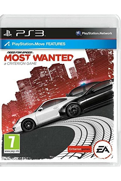 EA Games Need For Speed Most Wanted - Ps3 Oyun