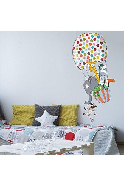 KT Decor Benekli Uçan Balon Çocuk Odası Duvar Sticker