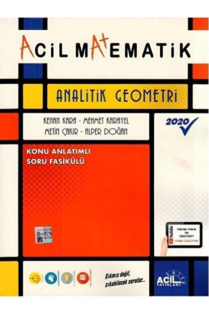 DIGERUI Acil Yayınları Acil Matematik Analitik Geometri Konu Anlatımlı Soru Fasikülü