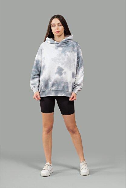 nosewear Kapüşonlu Batik Sweatshirt