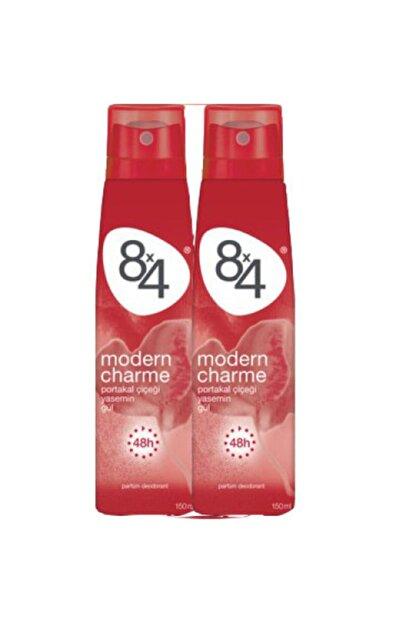 8x4 Modern Charme 150 Ml Deodorant X2
