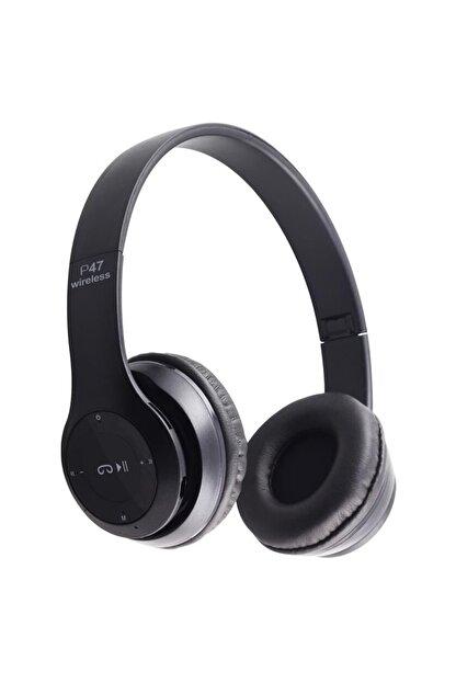 Mkey P47 Wireless Kulaklık, P47 Wireless Headphone Radyolu Versiyon, P47 Kulaklık, P47 Bluetooth Kulaklık