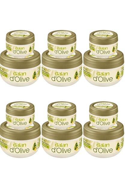 Dalan D'olive Zeytinyağlı Besleyici 300 Ml Ve 150 Ml Vücut Kremi Seti 6 Adet
