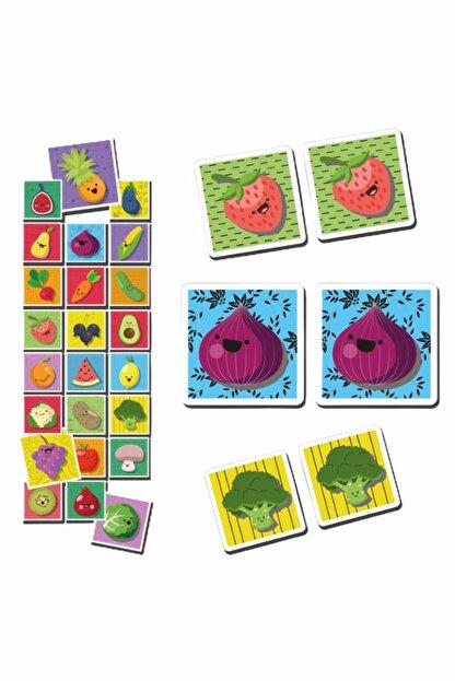 MATEO Eşleştirme Kartları Meyve Ve Sebze Okul Öncesi Oyunlar