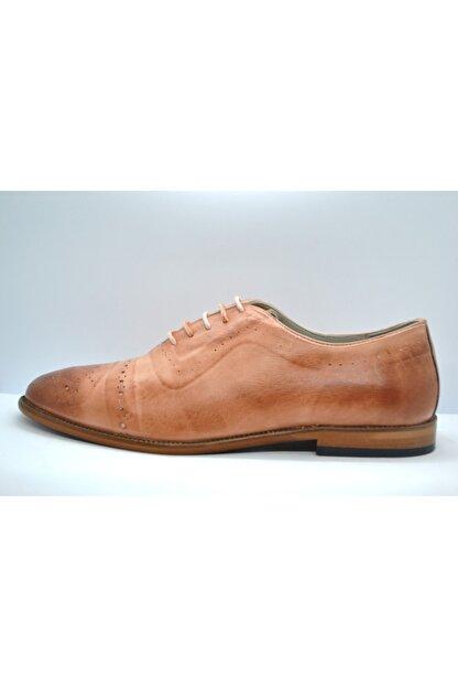 Faruk Sağın Erkek Pembe Hakiki Deri Ayakkabı