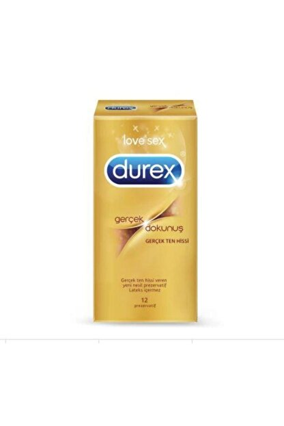 Durex Gerçek Dokunuş Prezervatif 10 Lu