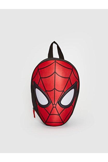 LC Waikiki Spiderman Erkek Çocuk Kırmızı Csg Sırt Çantası