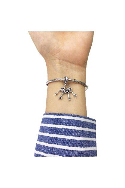 My Story Aşkın Anahtarı Gümüş Charm