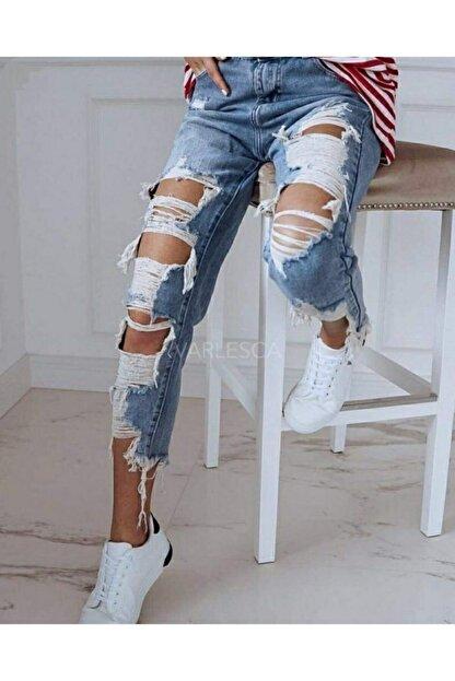 JANES ? Özel Tasarım Yırtık Detay Kot Pantolon