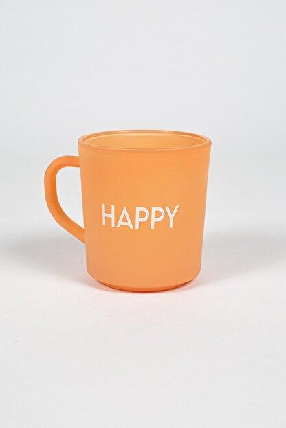 Rakle Somon Motto Happy Kupa Bardak
