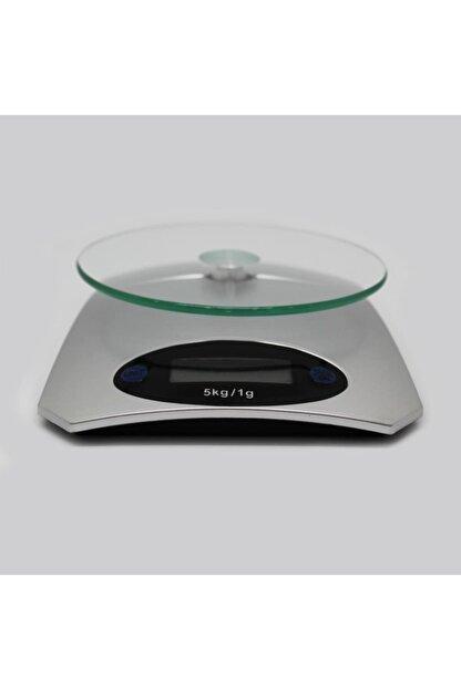 Techmaster 5 Kg Dijital Cam Platform Mutfak Terazisi Tartısı 1 Gr Hassasiyet
