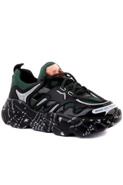 Guja Kadın Yeşil Sneakers