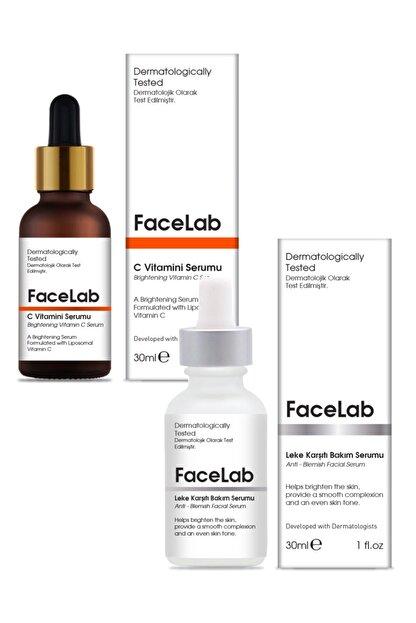 FaceLab C Vitamini Serumu + Leke Giderici Serum 2'li Set